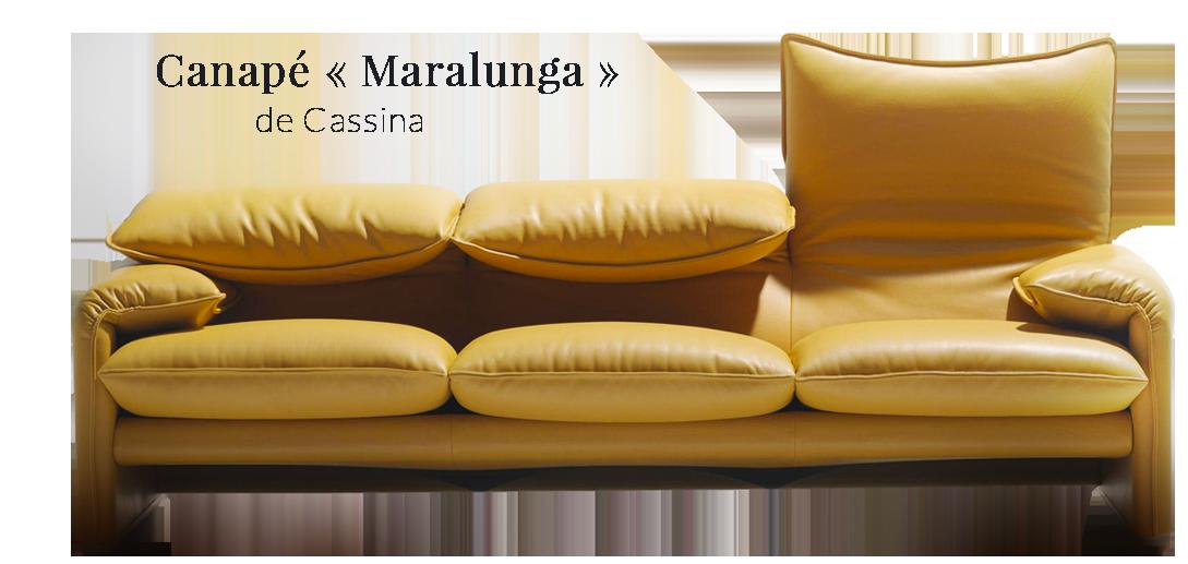 Canapé Maralunga