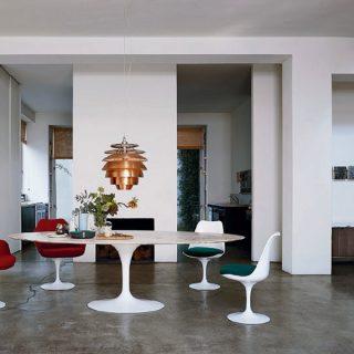 table Tulipe Knoll