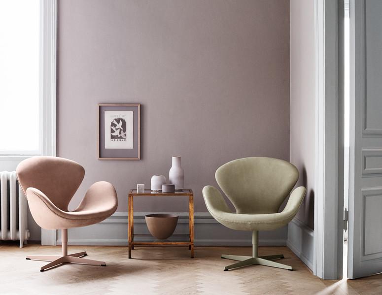 fauteuil Swan design Fritz Hansen