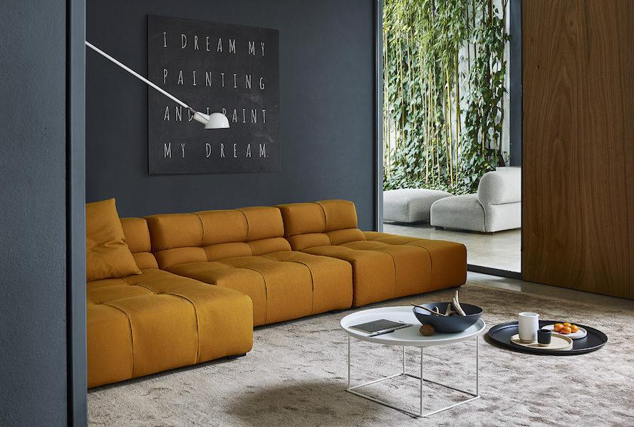 Canapé B&B Italia Tufty TIme salon design